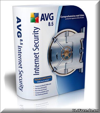 AVG Internet Security 8.5.406 Build 1617 (100.1 Mb)